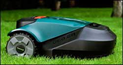 rs-630 Lawn Mower Mowing Grass